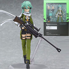 Sword Art Online II Asada Shino Sinon Figma Toys JP Anime PVC Figure Colleciton