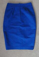 Beautiful LK Bennett Royal Blue Pencil Wiggle Skirt Size8 Perfect Cocktail Party