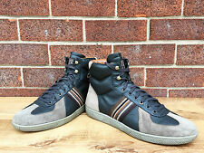 Paul Smith Men's Brown Leather Lace up Trainers Sneakers Italy UK 8 US 9  EU 42