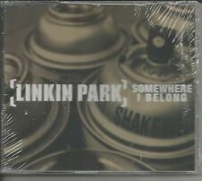 LINKIN PARK Somewhere I belong 2 LIVE TRX Europe CD Single  SEALED USA Seller