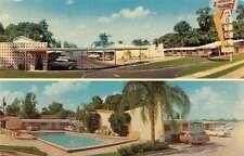 Winter Park Florida Imperial Motel Multiview Vintage Postcard K35824