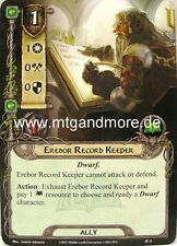 Lord of the Rings LCG  - 1x Erebor Record Keeper  #011 - Khazad-Dum