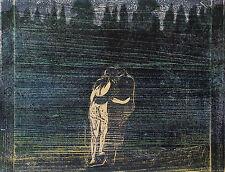 Munch Prints: Towards The Forest (black color scheme) - Fine Art Print