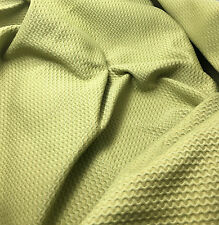 Sage Green Wavy Cotton Home Decor Fabric 1/3 yd remnant