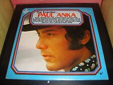 """Paul Anka The Essentials 12"""" Double Vinyl Record Buddah BDS 5667 VG+ Condition"""