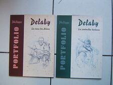 DELABY /  / 2  PORTFOLIO /  700 EX NUM SIGN