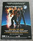 Fantastic Four the Game 2005 Activation PlayStation 2 Xbox PROMO Movie Poster FN