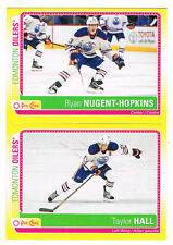 2013-14 TAYLOR HALL O-PEE-CHEE STICKER INSERT #S-TH OILERS