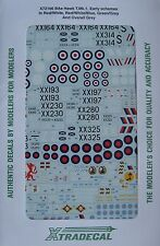 Xtradecal 1/72 X72166 BAe Hawk T Mk 1 Early Schemes Decal Set