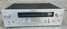 Vintage SONY STR-6055 Receiver AM FM Radio Tuner PHONOGRAPH LP Amplifier Exct