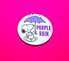 PRINCE PURPLE RAIN SNOOPY PEANUTS BUTTON PIN BADGES