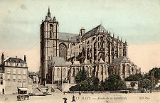 OLD POSTCARD -FRANCE - Le Mans -Abside de la Cathedrale - ND Phot 36 -c1910