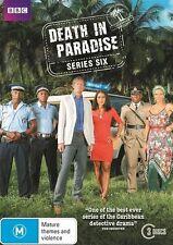 Death In Paradise Series - Season 6 (DVD, 3-Disc Set) NEW