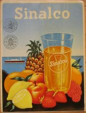 'Sinalco' Fruit Soda, Advertising Window Decal / Sign - 1940s