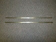 1959 Edsel Ranger Driver Side Rear Door Upper & Lower Chrome Trim Molding