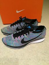 Nike Flyknit Racer UK 6.5 Multi Color Rainbow Rare Ltd Edition Brand New In Box