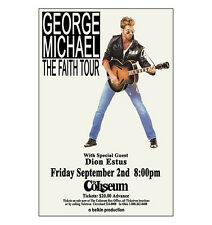 George Michael 1988 Cleveland Concert Poster