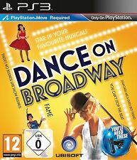 Dance on Broadway - Musical Spiel für Sony Playstation 3 Ps3 mit Move Neu/Ovp