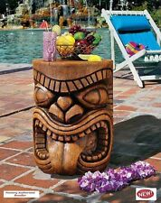 "Echoing Exotic Grand Tiki The Lono (Tongue) Garden 20,5"" Sculptural Table New"