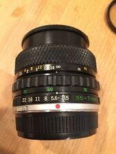OLYMPUS 35mm-70mm F 3.5-4.5 Auto-Zoom Lens for Olympus OM System Cameras
