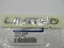 New LIMITED Trunk Lid Emblem Badge 863313L040 OEM For 2006-2011 Hyundai Azera