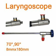 Endoscope ø8x180mm Laryngoscope laryngeal mirror laryngendoscope 70° Endoscopy