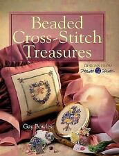 Beaded Cross-Stitch Treasures: Designs From Mill Hill-ExLibrary