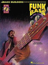 Funk Bass Learn to Play Beginner Funk Slap Bass Guitar TAB Music Book & CD