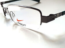 Nike Flexon Eyeglasses 4245 Rimless Glasses Marchon 53mm Shiny Gunmetal Frames