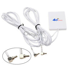 Dual CRC9 Interface External Antenna Booster Amplifier 4G 3G Mobile Router New