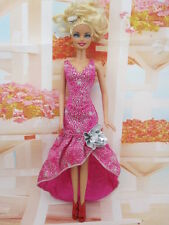 New GORGEOUS Handmade The original clothes dress for barbies doll  Party c432