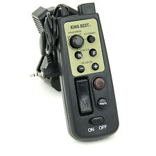 eBenk LANC Zoom Controller Remote for Manfrotto, Sony, Dolica & Slik Tripods