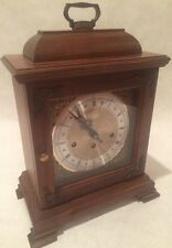 Vintage Hamilton Mantle Clock - Key Wind 5 Hammer 2 Jewel West Germany Movement