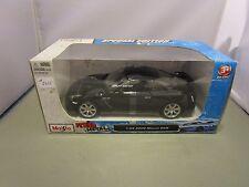 MAISTO 1/24 FRESH METAL BLACK 2009 NISSAN GT-R NEW IN BOX