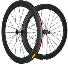 60mm Clincher Carbon Road Bike Wheelset Bicycle Carbon Wheels in Stock 700C