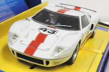 SCALEXTRIC C2941A LTD. EDITION OF 2000 FORD GT40 NEW 1/32 SLOT CAR IN DISPLAY