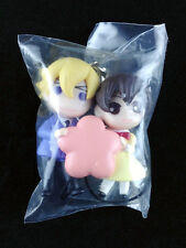 Ouran High School Host Club Figure Strap Key Chain official Haruhi & Tamaki New
