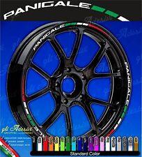 Set Adesivi Cerchi Moto Ruote DUCATI PANIGALE 1299 1199 899 Tricolore