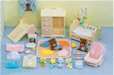 CALICO CRITTERS #CC2269 Baby's Pink Bedroom Set - New Factory Sealed - Sylvania