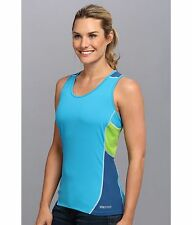 Nwt Marmot Interval Atomic Blue Saphire Tank Sz.s