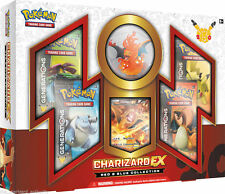 POKEMON CHARIZARD-EX BOX - GENERATIONS BOOSTERS + FIGURE + PROMO - (DENTED BOX)