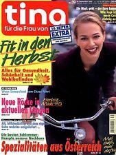 Zeitschrift TINA Nr. 39 von 1998, Fit in den Herbst; Neue Röcke; Sammelwut  uvm.