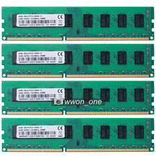 New 16GB 4x4GB PC3-10600 DDR3-1333Mhz 240pin Desktop Memory For AMD Motherboard