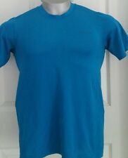 Patagonia Performance Base Layer Compression Shirt Short Sleeve XS Blue