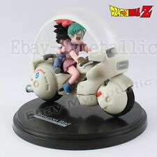 DragonBall Museum Collection 4 Child Goku & Bulma #9 Bike 8cm PVC Figure Loose
