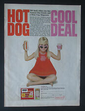 Armour Hot Dog Ad With Coupon 1966 Original Vintage Print Ad