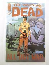 The Walking Dead #124 (10 of 12) 1st Print - All Out War - NM - Regular Cover