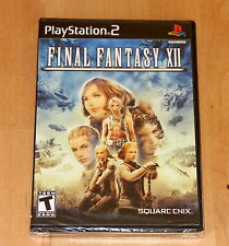 Final Fantasy 12 - playstation 2 NTSC US -  Neuf / New