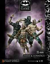 Knight Models BNIB Batman Arkham City - Victor Zsasz & Arkham Lunatics