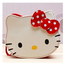 Sanrio Hello Kitty Big Face Pouch Case Bag Zippered Cosmetic